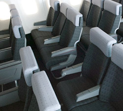 fire retardant aircraft seat