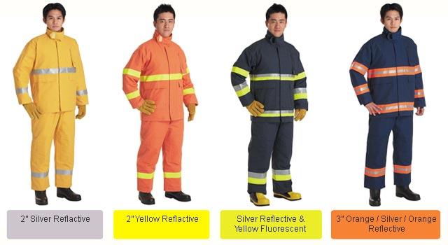 high tech innovative fire resistant gear, firefighter suit