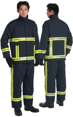 fire retardant clothing, firefighter suit