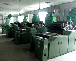 fire retardant fabric carding machines